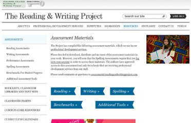 http://readingandwritingproject.com/resources/assessments.html