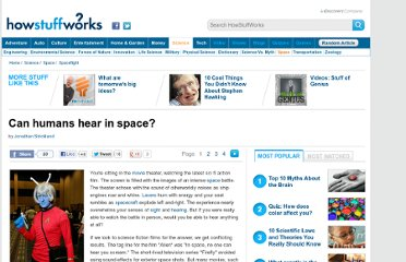 http://science.howstuffworks.com/humans-hear-in-space.htm