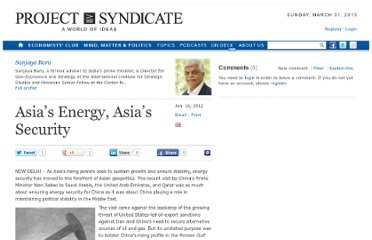 http://www.project-syndicate.org/commentary/asia-s-energy--asia-s-security