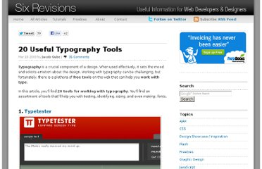 http://sixrevisions.com/graphics-design/20-useful-typography-tools/