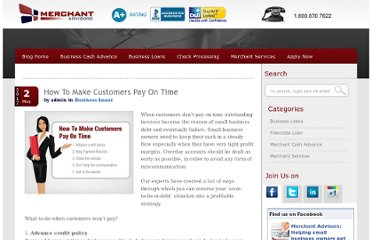 http://www.onlinecheck.com/blog/business-loans/how-to-make-customers-pay-on-time/