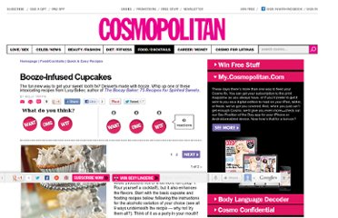 http://www.cosmopolitan.com/food/easy-recipes/alcohol-cupcake-recipes