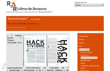 http://www.larevuedesressources.org/become-the-media,2309.html