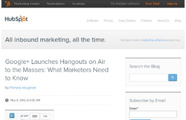 http://blog.hubspot.com/blog/tabid/6307/bid/32751/Google-Launches-Hangouts-on-Air-to-the-Masses-What-Marketers-Need-to-Know.aspx