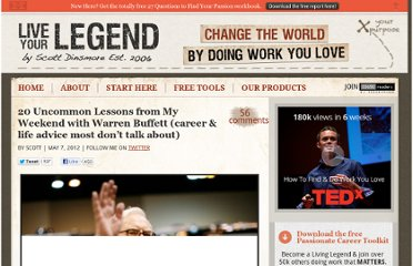 http://liveyourlegend.net/20-uncommon-career-lessons-from-my-weekend-with-warren-buffett/