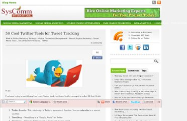 http://www.syscomminternational.com/blog/50-cool-twitter-tools-for-tweet-tracking/