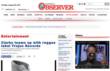 http://www.jamaicaobserver.com/entertainment/Clarks-teams-up-with-Trojan-Records_11332499