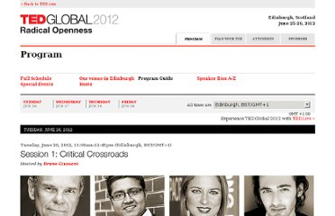 http://conferences.ted.com/TEDGlobal2012/program/guide.php