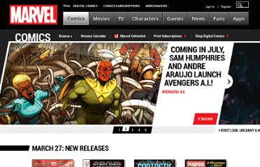 http://marvel.com/digital_comics/list?isFree=1