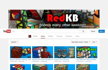 http://www.youtube.com/user/redkb/videos