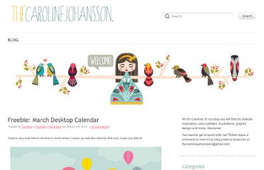http://thecarolinejohansson.com/blog/category/freebies/