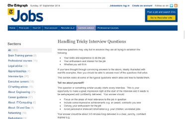 http://jobs.telegraph.co.uk/article/3886120/handling-tricky-interview-questions/