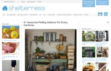 http://www.shelterness.com/41-awesome-potting-stations-for-every-gardener/