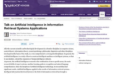 http://voices.yahoo.com/talk-artificial-intelligence-5666088.html