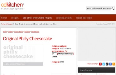 http://www.cdkitchen.com/recipes/recs/31/Cheesecake86862.shtml