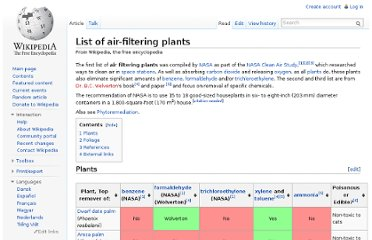 http://en.wikipedia.org/wiki/List_of_air-filtering_plants