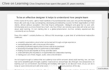 http://clive-shepherd.blogspot.com/2012/04/to-be-effective-designer-it-helps-to.html#!/2012/04/to-be-effective-designer-it-helps-to.html