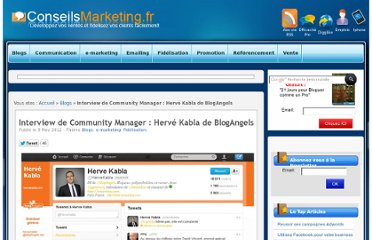 http://www.conseilsmarketing.com/e-marketing/interview-de-community-manager-herve-kabla-de-blogangels