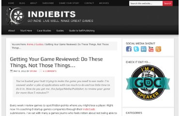 http://indiebits.com/getting-your-game-reviewed/