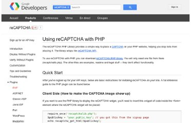 https://developers.google.com/recaptcha/docs/php?hl=fr