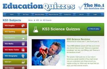 http://www.educationquizzes.com/ks3/science/
