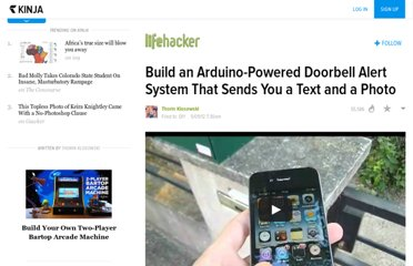 http://lifehacker.com/5908850/build-an-arduino+powered-doorbell-alert-system-that-sends-you-a-text-and-photo