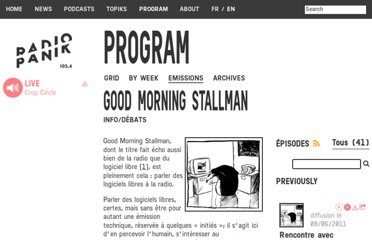 http://www.radiopanik.org/spip/-Good-Morning-Stallman-