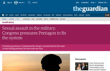 http://www.guardian.co.uk/world/2012/may/09/sexual-assault-congress-pressures-pentagon