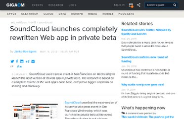 http://gigaom.com/2012/05/09/soundcloud-relaunch-private-beta/