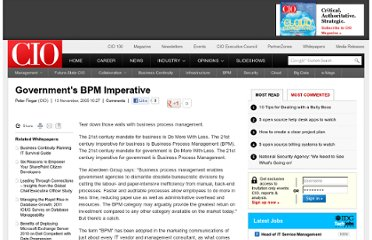 http://www.cio.com.au/article/144136/government_bpm_imperative