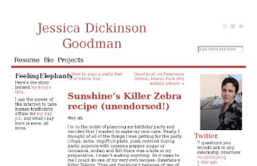 http://jessicadickinsongoodman.com/2007/12/21/sunshines-killer-zebra-recipe-unendorsed/