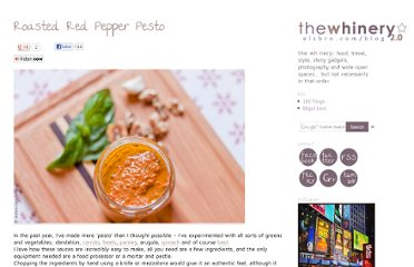 http://elsbro.com/blog/2012/05/07/roasted-red-pepper-pesto/