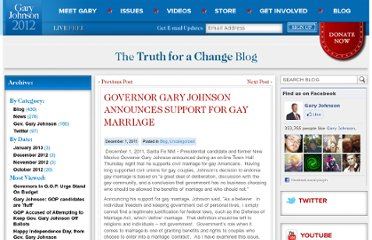 http://www.garyjohnson2012.com/governor-gary-johnson-announces-support-for-gay-marriage