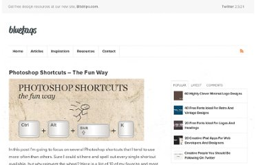 http://bluefaqs.com/2010/03/photoshop-shortcuts-the-fun-way/