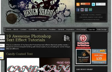 http://www.designshard.com/video-tutorials/18-awesome-photoshop-text-effect-tutorials/