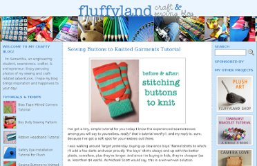 http://fluffyland.com/blog/index.php/sewing-buttons-to-knitted-garments-tutorial/