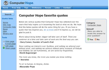 http://www.computerhope.com/quotes.htm