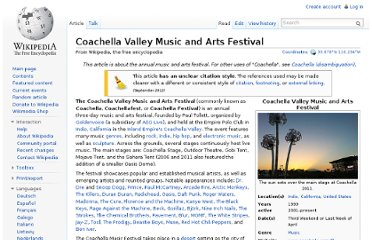http://en.wikipedia.org/wiki/Coachella_Valley_Music_and_Arts_Festival