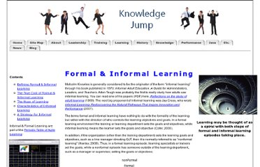 http://www.knowledgejump.com/learning/informal.html