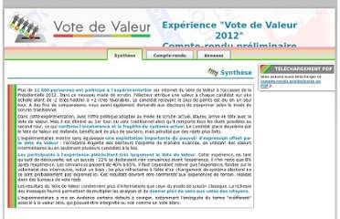 http://doc.votedevaleur.org/exp2012/compteRenduPreliminaire/web/co/synthese.html