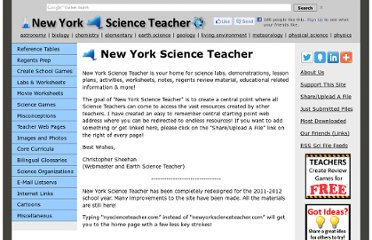 http://newyorkscienceteacher.com/sci/index.php