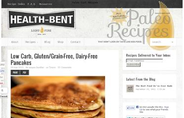 http://www.health-bent.com/treats/low-carb-gluten-free-dairy-free-pancakes