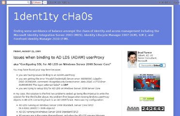 http://www.identitychaos.com/2009/08/issues-when-binding-to-ad-lds-adam.html