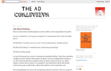 http://adcontrarian.blogspot.com/2012/05/ads-about-nothing.html