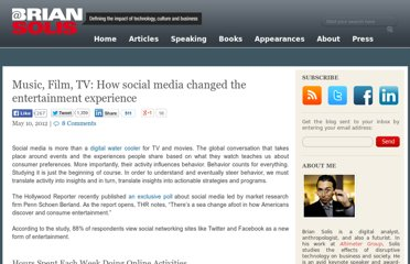 http://www.briansolis.com/2012/05/music-film-tv-how-social-media-changed-the-entertainment-experience/