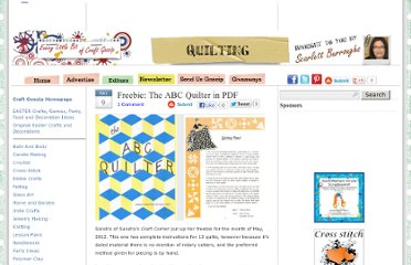 http://quilting.craftgossip.com/freebie-the-abc-quilter-in-pdf/2012/05/09/