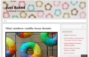 http://justbakedbyme.wordpress.com/2012/05/07/mini-rainbow-vanilla-bean-donuts/