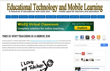 http://www.educatorstechnology.com/2012/05/this-is-why-teaching-is-heroic-job.html