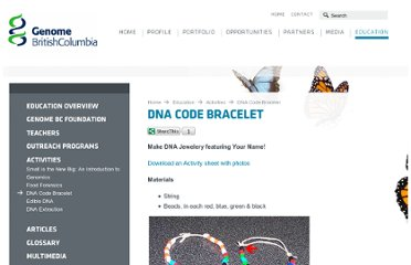 http://www.genomebc.ca/education/activities/dna-code-bracelet/