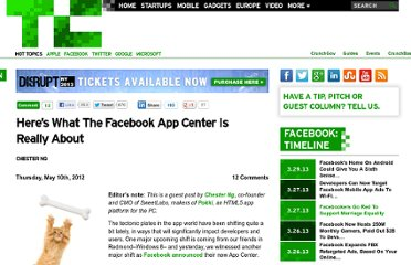http://techcrunch.com/2012/05/10/heres-what-the-facebook-app-center-is-really-about/